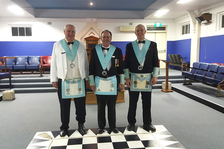 Lodge Balgowlah Worshipful Master